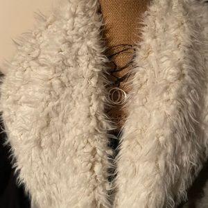NWT furry vest
